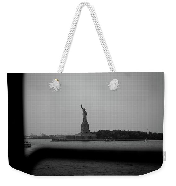 Window To Liberty Weekender Tote Bag