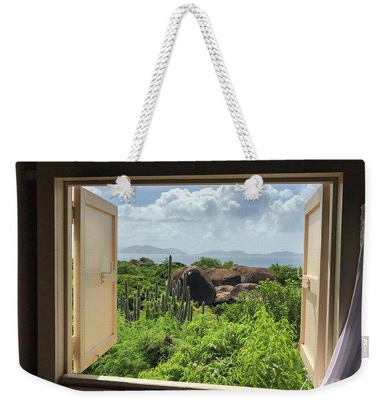 Window To The Baths Weekender Tote Bag
