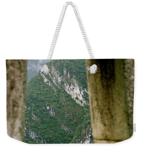 Window To The Gifts Of The Pachamama Weekender Tote Bag