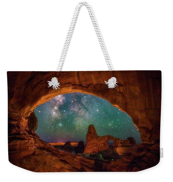 Window To The Heavens Weekender Tote Bag