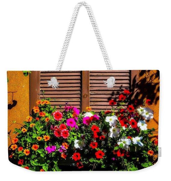 Windowbox Flowers Santa Fe Weekender Tote Bag