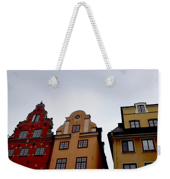Windows On Gamla Stan Weekender Tote Bag