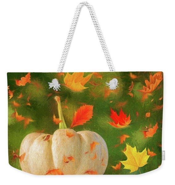 Winds Of Autumn Weekender Tote Bag