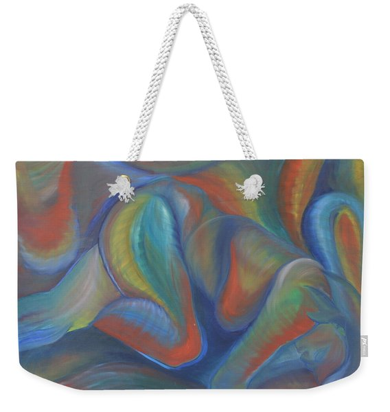Winds Of Change Prevail Weekender Tote Bag