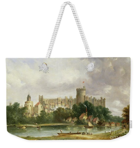 Windsor Castle - From The Thames Weekender Tote Bag