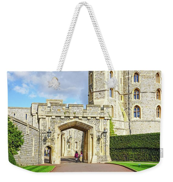 Windsor Castle Walk Weekender Tote Bag