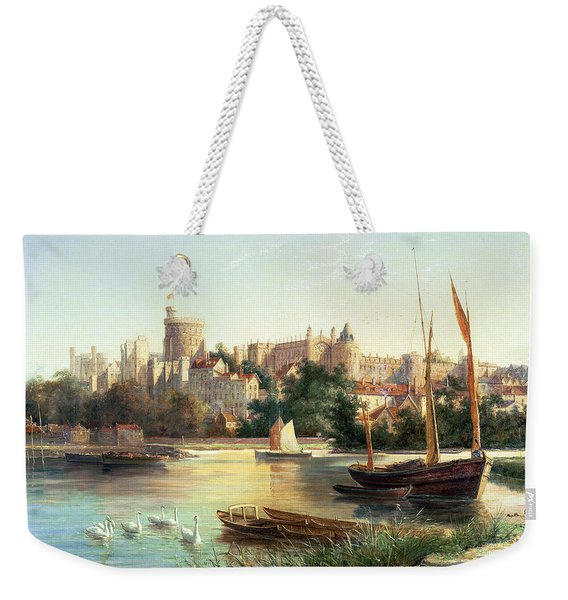 Windsor From The Thames   Weekender Tote Bag