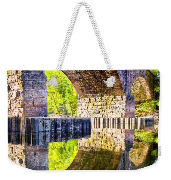 Windsor Rail Bridge Weekender Tote Bag