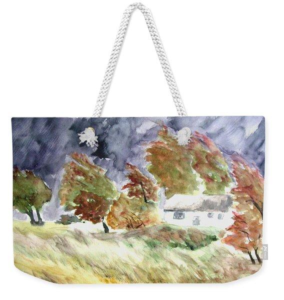 Windswept Landscape Weekender Tote Bag