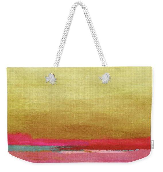 Windswept Sunrise- Art By Linda Woods Weekender Tote Bag