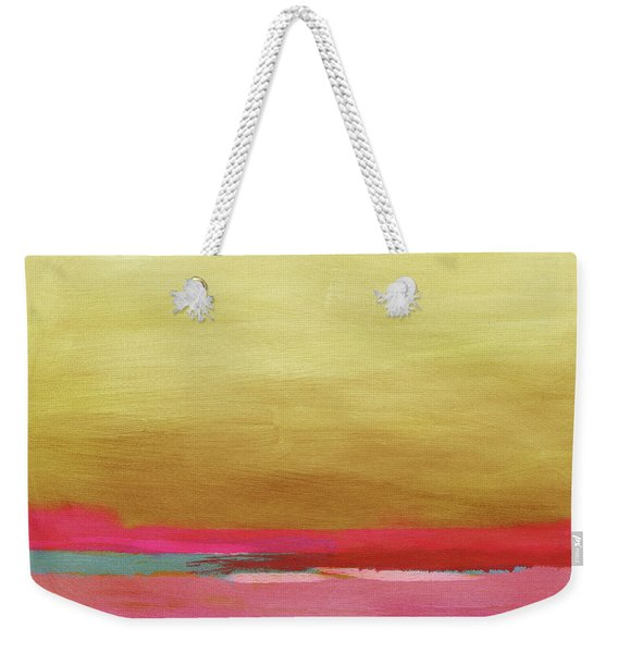 Windswept Sunrise- Art By Linda Woods Weekender Tote Bag