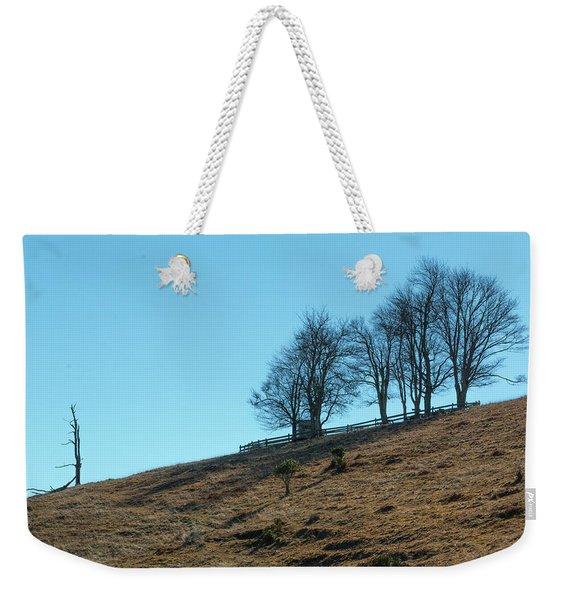 Windswept Trees - December 7 2016 Weekender Tote Bag