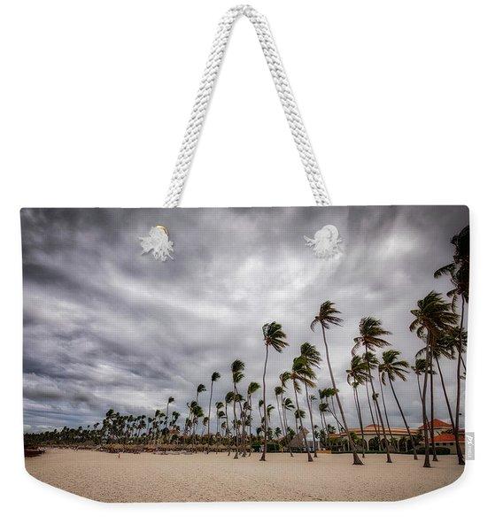 Windy Beach Weekender Tote Bag