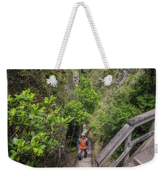 Windy Canyon Great Barrier Island New Zealand Weekender Tote Bag