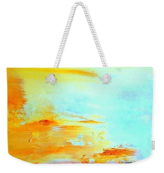 Windy Weather - Blown Away Weekender Tote Bag