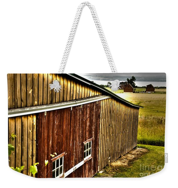 Wine Barn Weekender Tote Bag