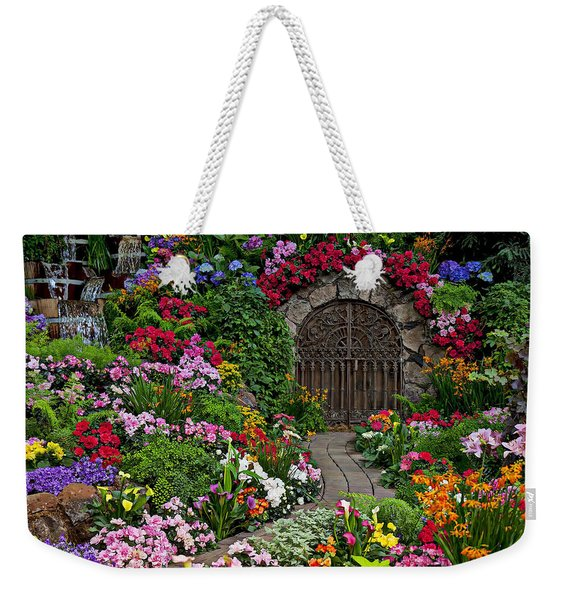 Wine Celler Gates  Weekender Tote Bag