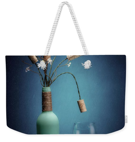 Wine Cork Bouquet Weekender Tote Bag