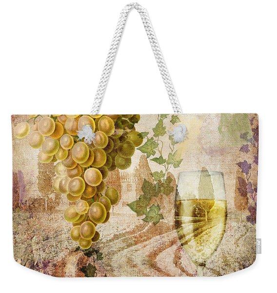 Wine Country Chablis Weekender Tote Bag