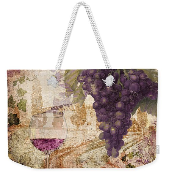 Wine Country Loire Weekender Tote Bag