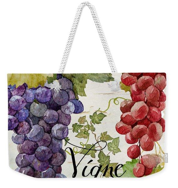 Wines Of Paris Weekender Tote Bag