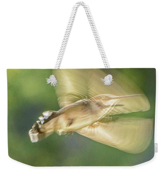Wing Shadow Weekender Tote Bag