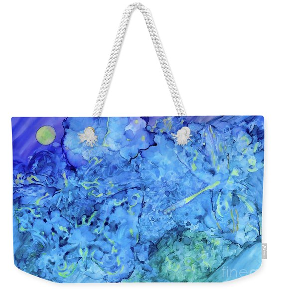 Winged Chaos Under The Moon Weekender Tote Bag
