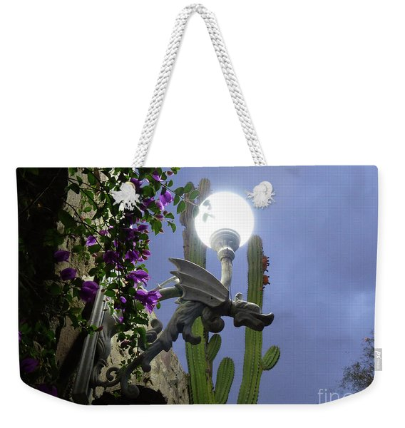 Winged Gargoyle In El Fuerte Weekender Tote Bag