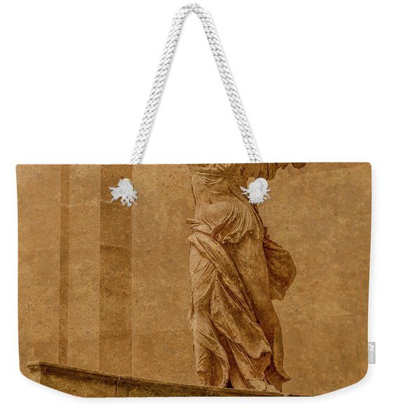 Paris, France - Louvre - Winged Victory Weekender Tote Bag