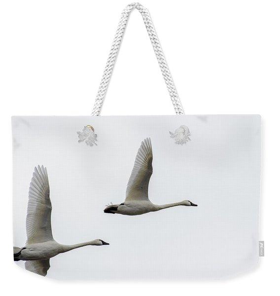 Winging Home Weekender Tote Bag