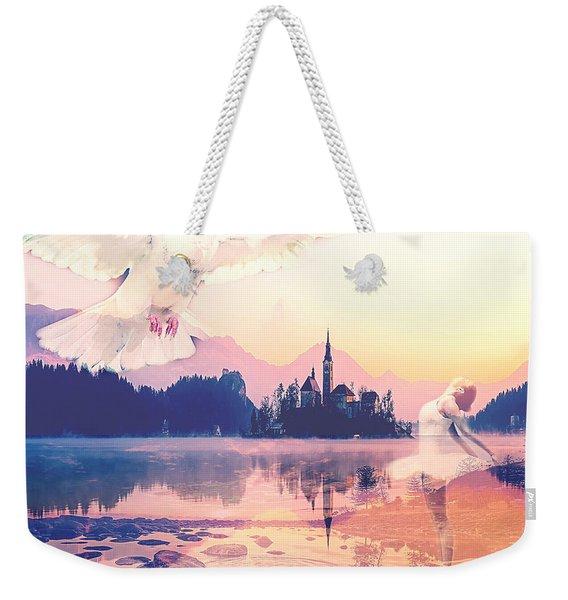 Wings Of Grace Weekender Tote Bag