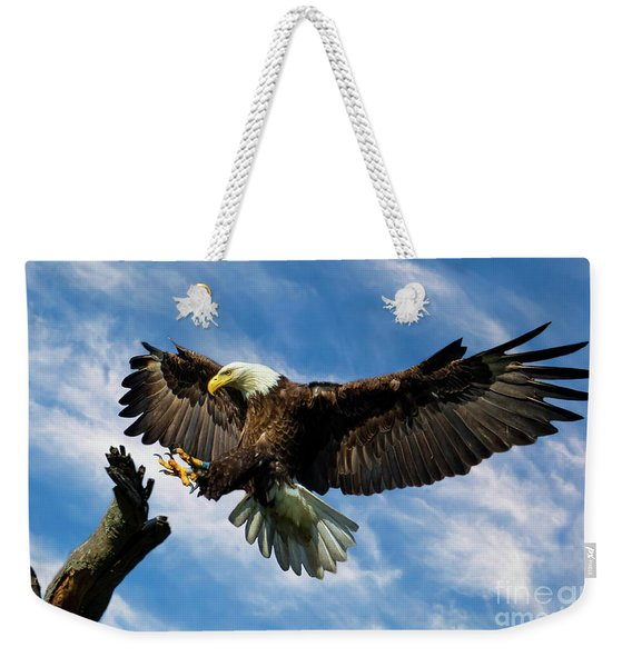 Wings Outstretched Weekender Tote Bag