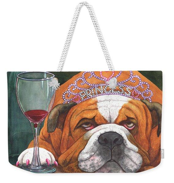 Wining Princess Weekender Tote Bag