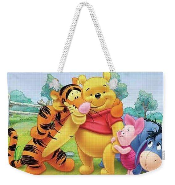 Winnie The Pooh Family  Weekender Tote Bag
