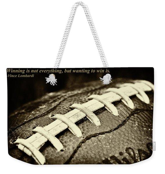 Winning Is Not Everything - Lombardi Weekender Tote Bag