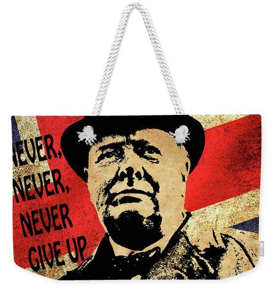 Winston Churchill 2 Weekender Tote Bag