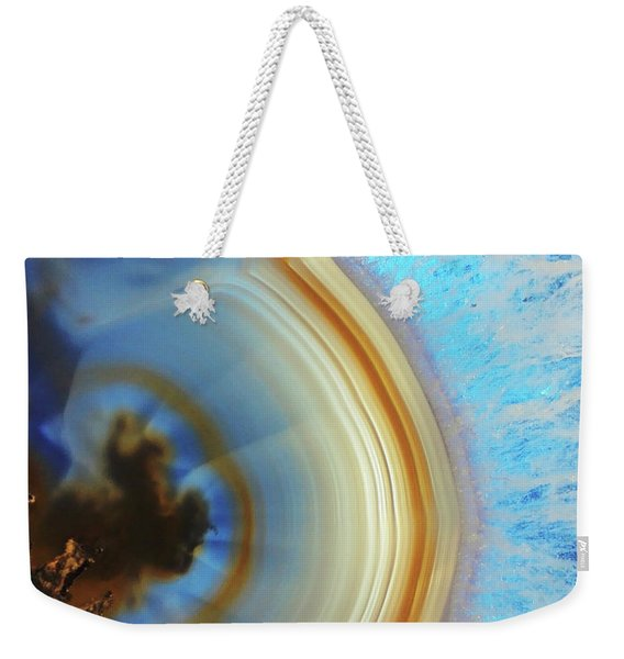Winter Agate Weekender Tote Bag