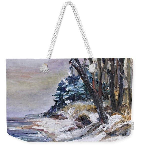 Winter At The Baltic Sea  Weekender Tote Bag