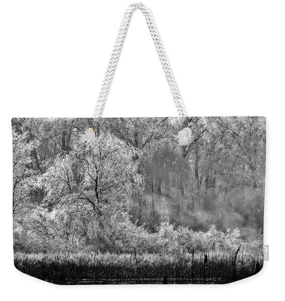 Winter Blossoms Weekender Tote Bag