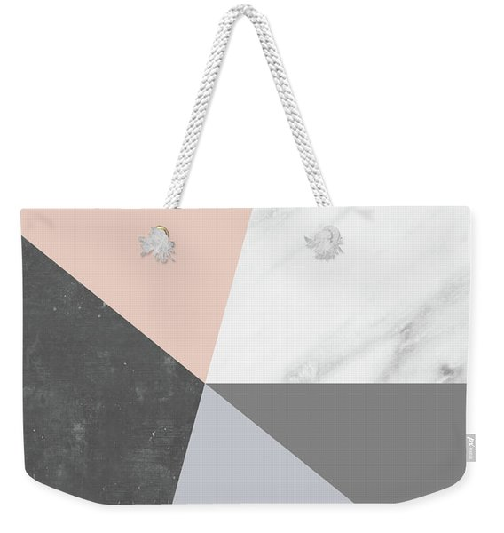 Winter Colors Collage Weekender Tote Bag
