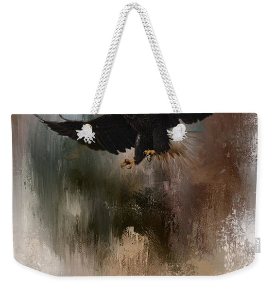 Winter Eagle 1 Weekender Tote Bag