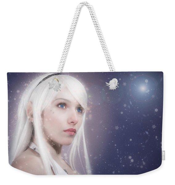 Winter Fae Weekender Tote Bag