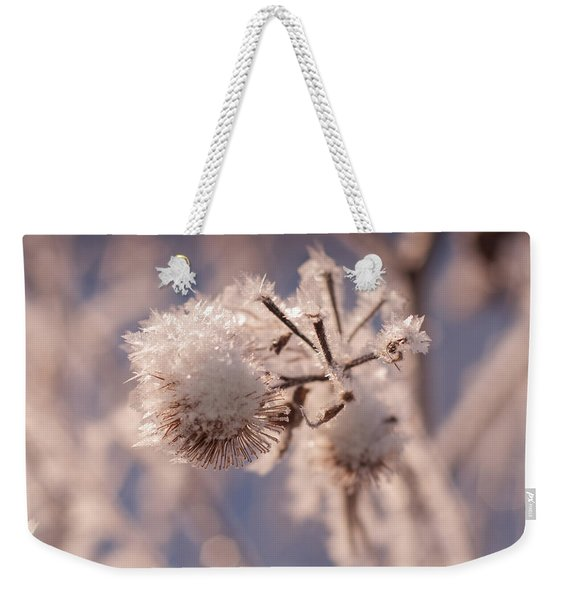 Winter Frost Weekender Tote Bag