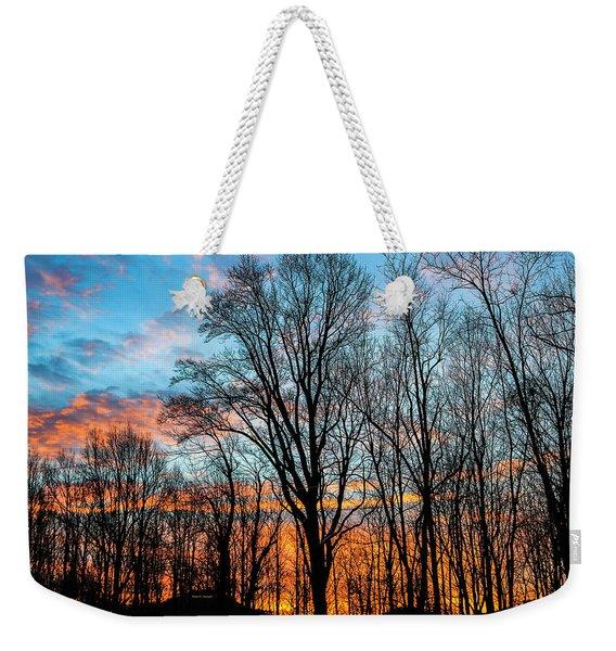 Winter Glory Weekender Tote Bag