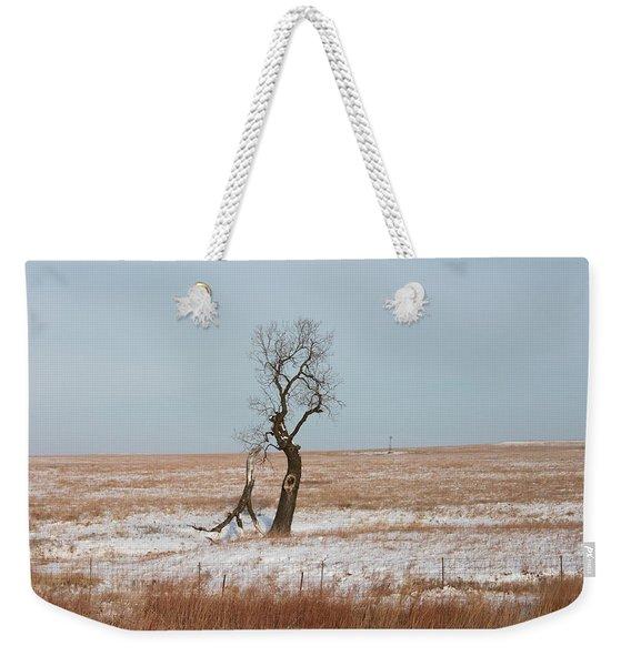 Winter In Kansas Weekender Tote Bag
