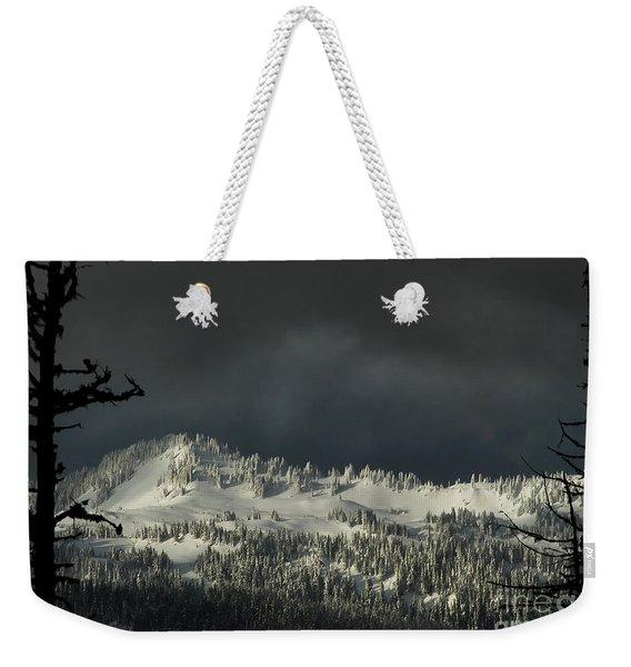 Winter In North Cascades Weekender Tote Bag