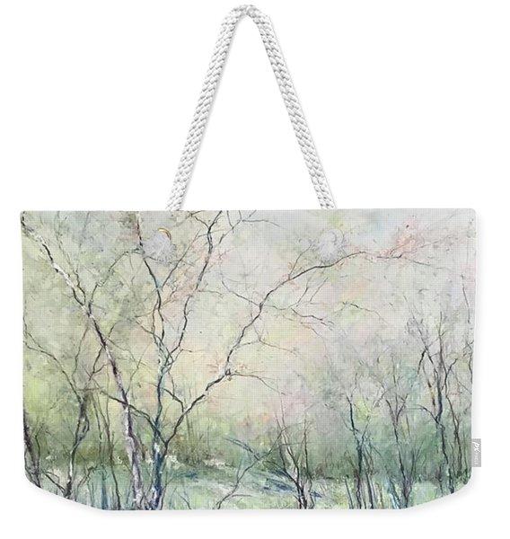 Winter Interlude Weekender Tote Bag