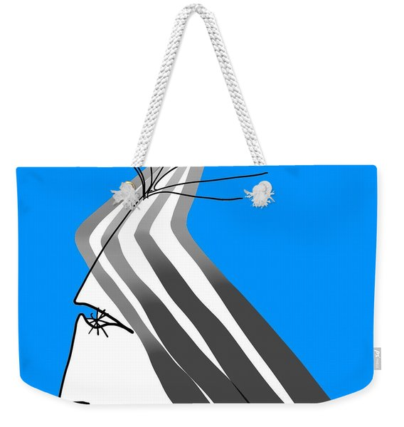 Winter Weekender Tote Bag