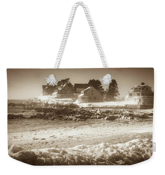 Winter - Lord's Point - Kennebunk Weekender Tote Bag