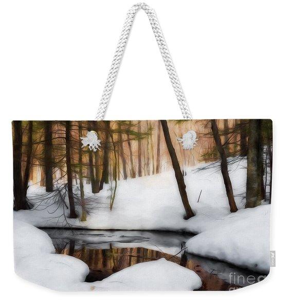 Winter Magic Weekender Tote Bag